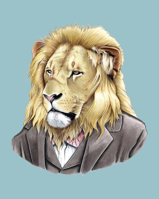 Lion8x10